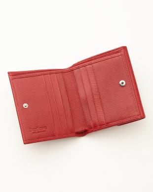 レッド  二つ折り財布<Jackie Purse>見る