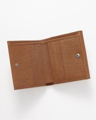 タン  二つ折り財布<Jackie Purse>見る