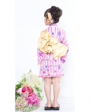 パープル系 ドレス+帯 2点セット|GIRL見る