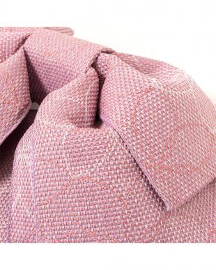 くすみピンク 大花 造り帯|WOMEN見る
