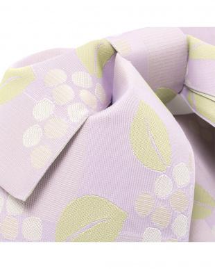 ラベンダー系 紫陽花 造り帯|WOMEN見る
