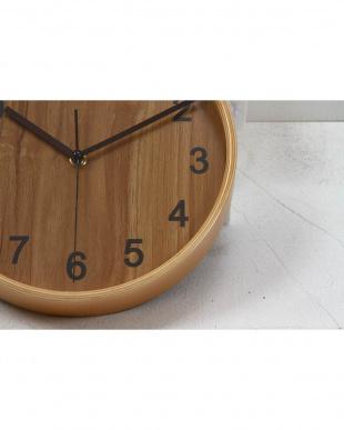プライウッド掛時計 Φ22cm NA見る