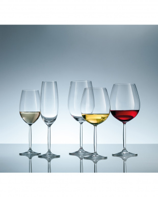 DIVA LIVING ワイングラス(シャルドネ)6個セット見る