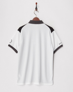 Black/Black/White  TRICOLOR POLO – POWER DRY見る