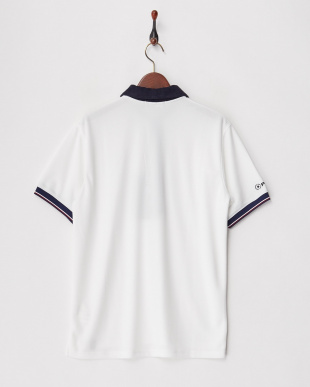 White  PILE COLLAR POLO - POWER DRY見る