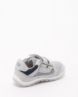 LT GREY/NAVY  B SHAAX B SNEAKERS見る