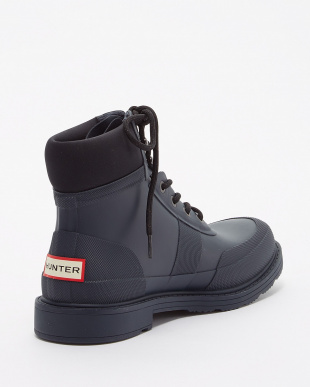 NAVY/BLACK ORIGINAL RUBBER COMMANDO BOOT見る