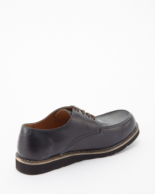 ブラック  シェブロンブラックvivramソール モカシン 短靴見る