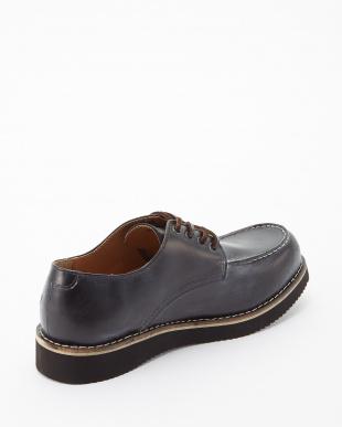 ブラック  ボーダーブラックvivramソール モカシン 短靴見る