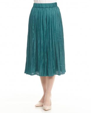 グリーン シャイニースカート見る