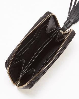 BLACK CAMO  COW TASSEL COIN CASE見る