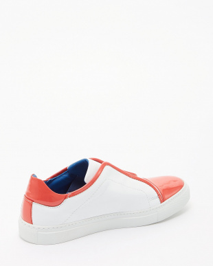 PETALO+COLOR CORALLO  バイカラーFENICE SNEAKER T.15見る
