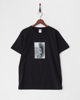 BLACK  G香里奈 限定Tシャツ (1)横顔バージョン見る