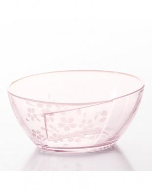 あわせオパール ピンク桜 麺鉢 3個セット見る
