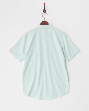 ライトグリーン  デザインカラーポロシャツ見る