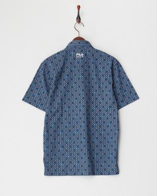 NV  メンズ 菱形チェック半袖ポロシャツ UVカット・吸汗速乾・接触冷感見る