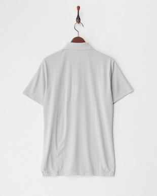 GY  メンズ 胸ポケット半袖ポロシャツ UVカット・吸汗速乾見る