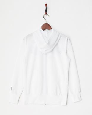 WT  レディス フラワー刺繍パーカブルゾン UVカット・吸汗速乾見る