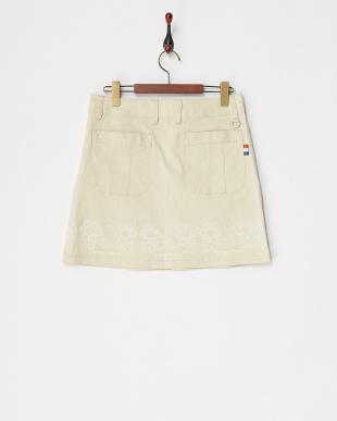 BE  レディス フラワーラバーptストレッチスカート UVカット見る