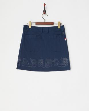 NV  レディス フラワーラバーptストレッチスカート UVカット見る