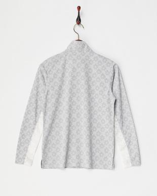 GY  レディス フラワーレース柄長袖シャツ UVカット・吸汗速乾見る