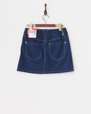 NV  レディス 綿混ストレッチスカート(ショートパンツ型裏地) UVカット・吸汗速乾見る