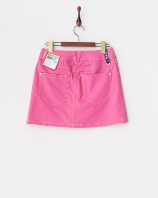 PK  レディス 綿混ストレッチスカート(ショートパンツ型裏地) UVカット・吸汗速乾見る