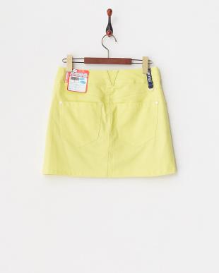 YL  レディス 綿混ストレッチスカート(ショートパンツ型裏地) UVカット・吸汗速乾見る