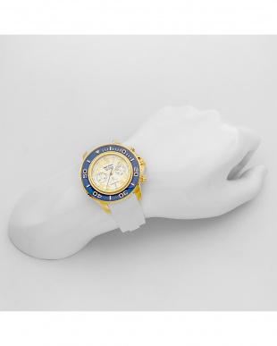ブルー/ホワイト SEA CRUISE 腕時計|MEN見る
