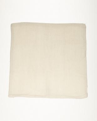 ホワイト ACC リネンクッションカバー45×45見る