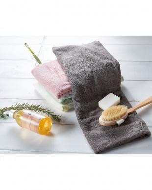 モカブラウン  世界3大コットン「新疆綿(しんきょうめん)」使用 バスタオル 3枚セット見る