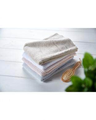 ホワイト  細番手高級糸「コーマ綿」 バスタオル 3枚セット見る