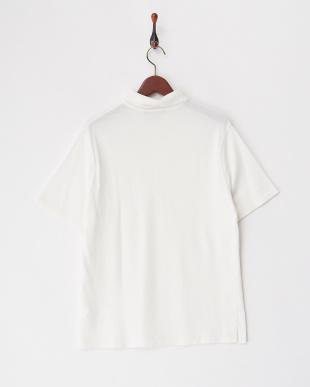 ホワイト ドライヤーンポロシャツ見る