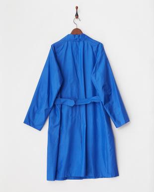 ブルー  シルク撥水コーティングコート見る