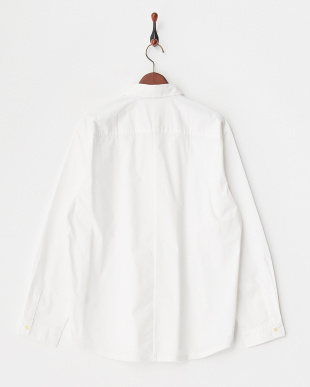 ホワイト  114/2コンパクトブロードシャツ見る