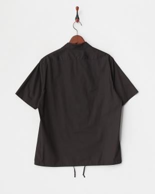 ブラック  ポリエステルピンヘッドシャツ見る
