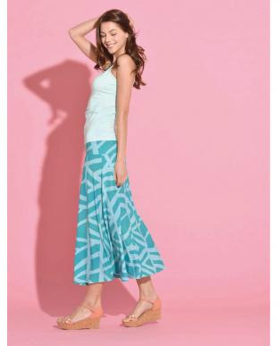 ターコイズ  Ocean Blue Bird 2ウェイスカート(ファッションタトゥー)見る