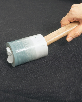 ホワイト Kop Roll Cleanerケース付き粘着クリーナー見る