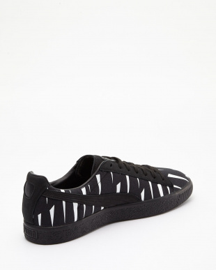 PUMA BLACK-PUMA BLACK CLYDE BLACK RAIN NATUREL見る