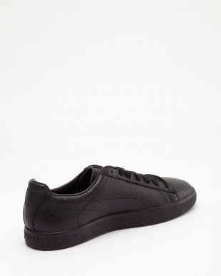 PUMA BLACK-PUMA BLACK CLYDE PERFORATED TRAPSTAR見る