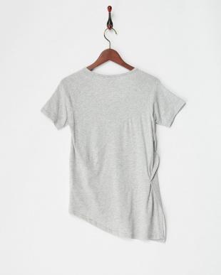 LIGHT GRAY HEATHER EVO サイドノット Tシャツ|WOMEN見る