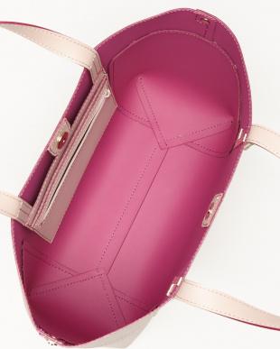 ピンク  アンセルム トートバッグ L見る