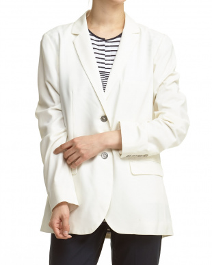 SAIL WHITE NS OUTWEAR BLAZER見る