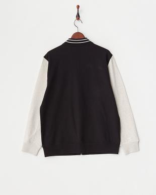 TRUE BLACK Full Zip L/S 袖切り替えジャケット見る
