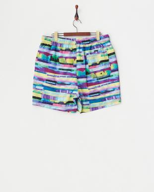 RADIANT ORCHID Abstract Stripe Swimwear見る