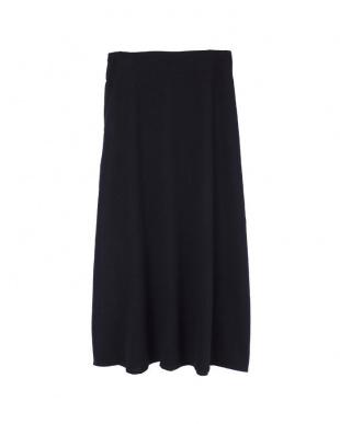 ブラック  Aラインロングスカート見る