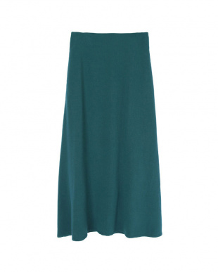 グリーン  Aラインロングスカート見る