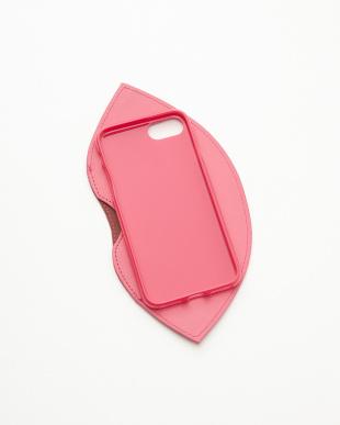 PINK  カード入りLIP iPhone7ケース見る