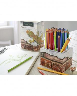 ポリクロモス色鉛筆アーバンカラーズ68色スタンド付きセット見る