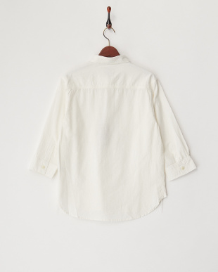 WHITE  コットンリネンシャンブレーシャツ見る